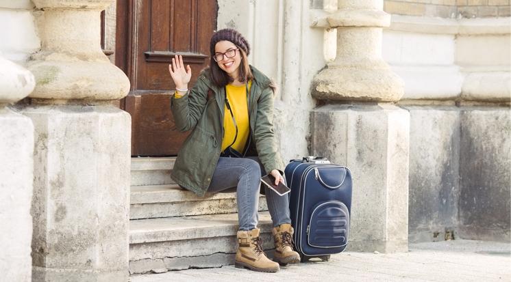 Jugendliche auf Reisen