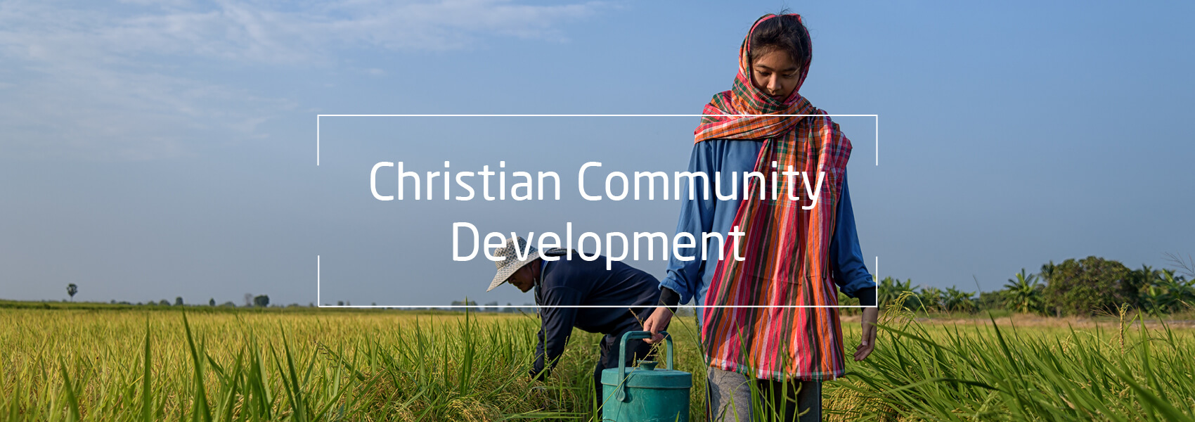 Ernte Asien, Text: Christian Community Development