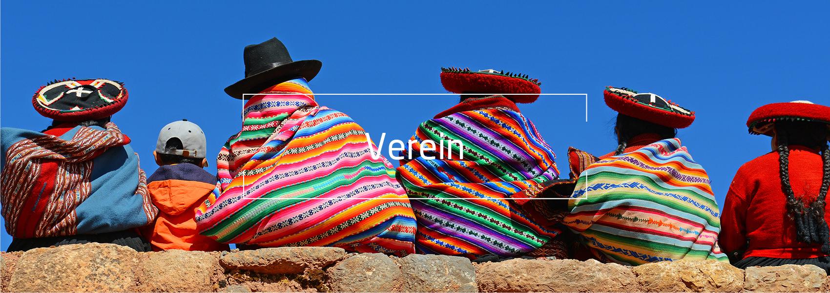 Quechua Frauen, Text: Verein